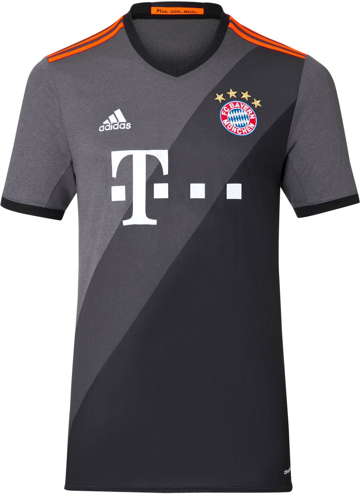 Bayern m nchen 16 17 away kit released footy headlines for Maillot exterieur