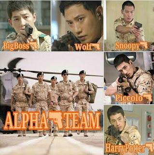 Ternyata Anggota Tim Alpha di Drama Korea Descendanst of the Sun Tak Kalah Ganteng dari Song Joong Ki lho, intip Yuk ?