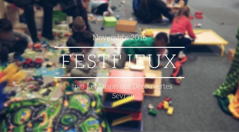 Festi'jeux, festival du jeu.