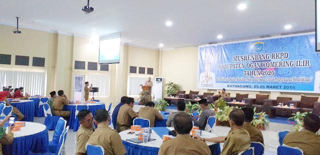 Bappeda OKI Rampungkan musrenbang RKPD OKI Tahun 2020