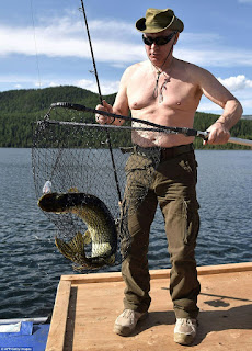 Russian President, Vladmir Putin goes shirtless in Holiday photos