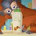 25 orangutanes mueren cada día