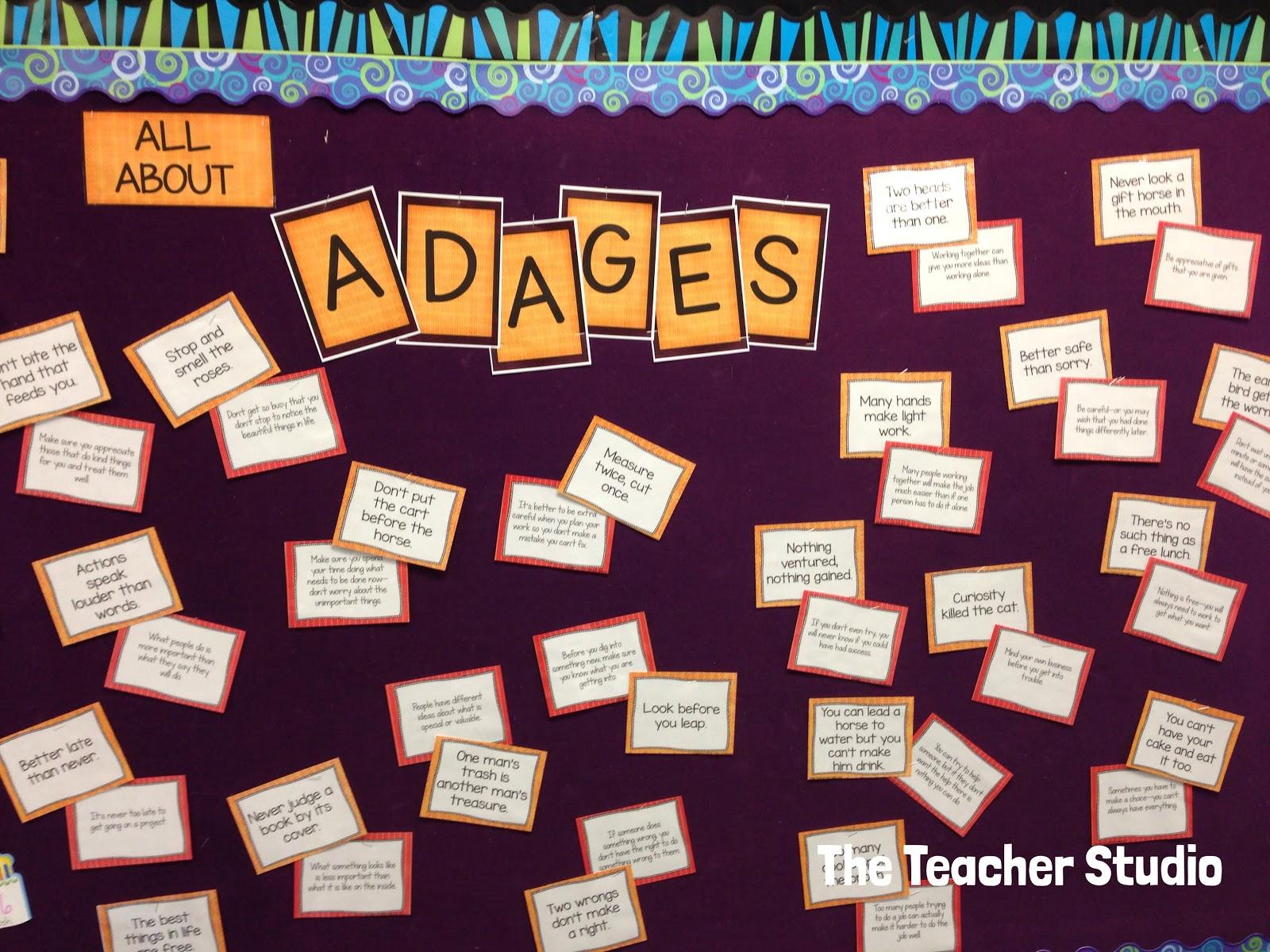 Teaching Adages