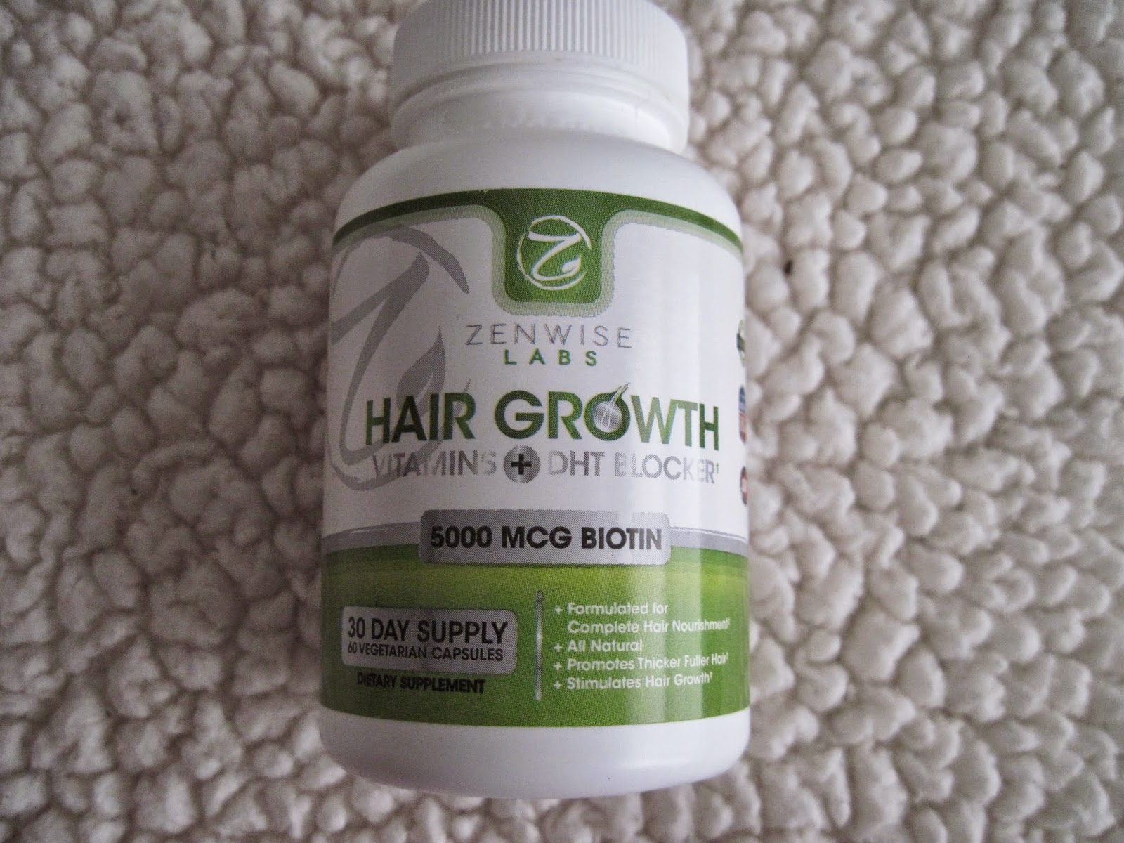 Skin Stuff by Katy: Review: ZenWise Labs Hair Growth Vitamins + DHT