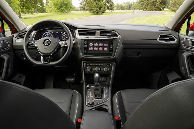 Novo VW Tiguan 2018 - painel