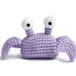 patron gratis cangrejo amigurumi, free amigurumi pattern crab