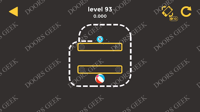 Ball & Ball Level 93 Solution, Walkthrough, Cheats for android and ios