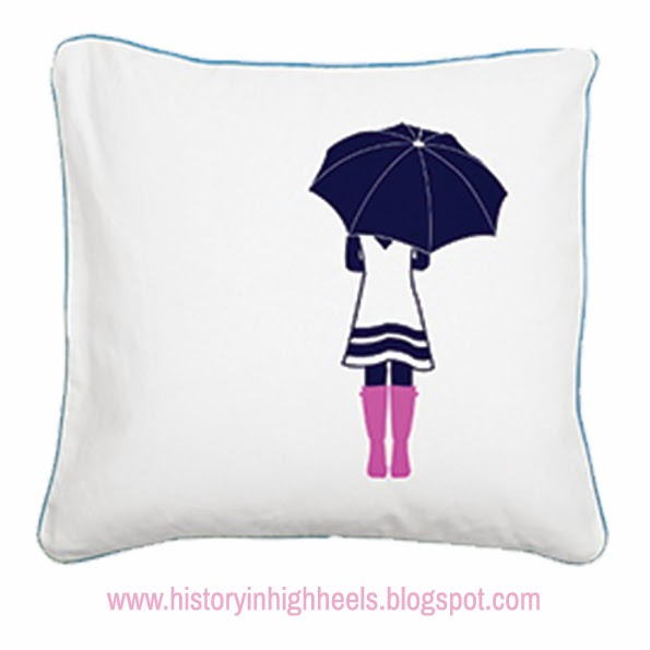 History In High Heels: Custom Pillows