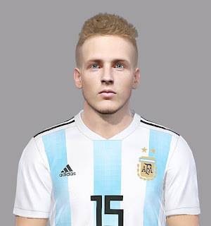 PES 2018 Faces Santiago Ascacibar by Luis Facemaker