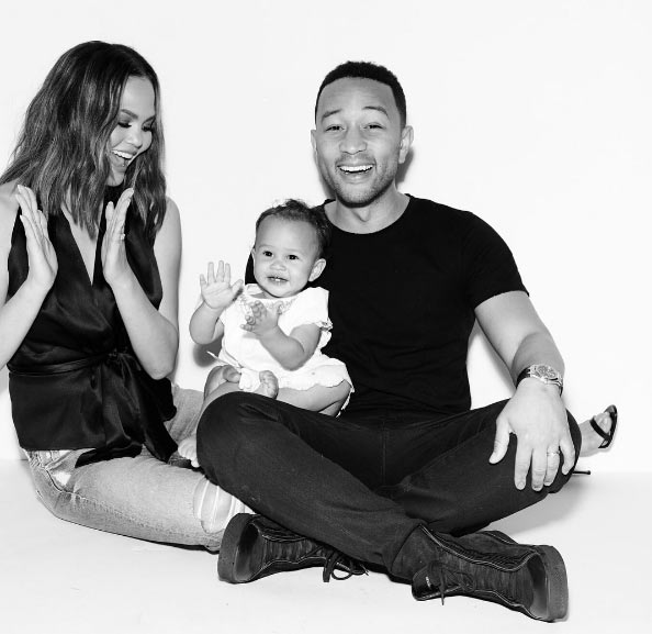Aww! Adorable photos of Johnny Legend's family as Baby Luna turns 1