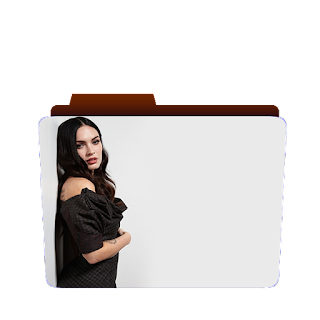 Preview of Megan fox, black dress, photoshoot, icon