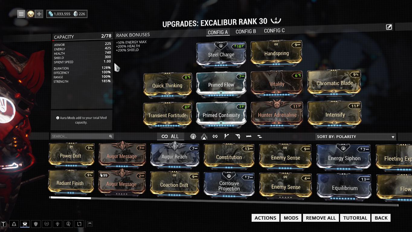 Warframe Reaper Prime