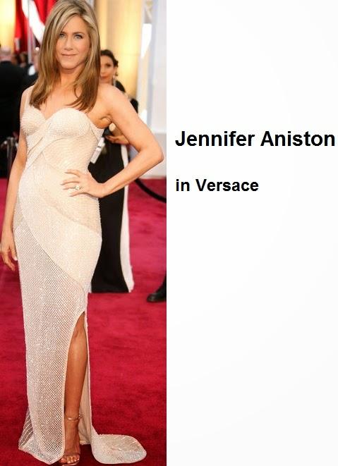 Jennifer%2BAniston%2Bin%2BVersace - Look Óscares 2015