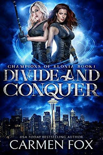 Divide and Conquer - a fast-paced urban fantasy discount book promotion Carmen Fox