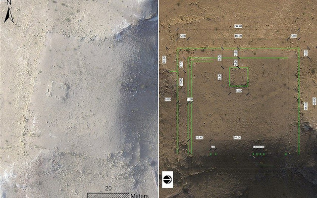 Massive ancient platform found in Petra