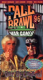 WCW FALL BRAWL 1996 REVIEW: Event poster
