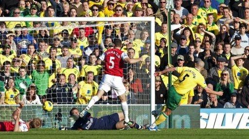 Norwich City Vs Arsenal Result Epl 2011 2012