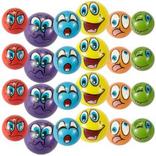emoji squeeze balls, emoji balls, emoji play therapy, emoji school counseling balls, emoji Christmas