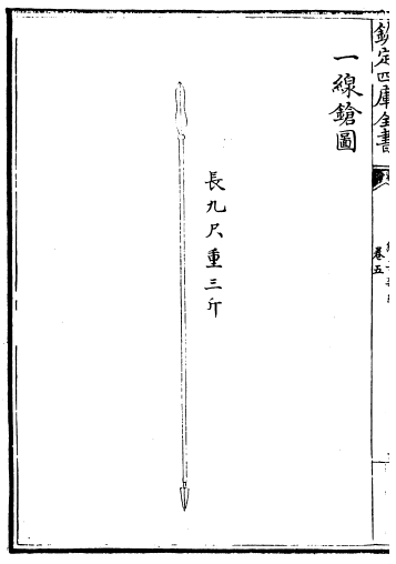 Ming Chinese Cavalry Spear