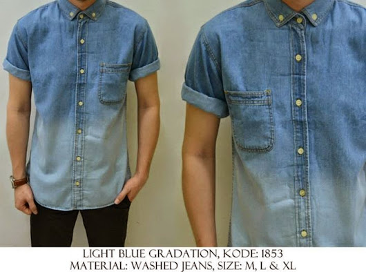 LIGHT BLUE GRADATION KODE : 1853 IDR 120.000 | Welcome
