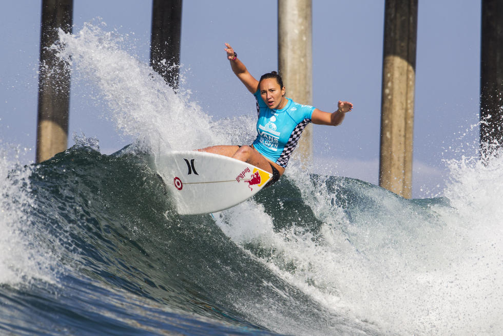 5 Carissa Moore Vans US Open of Surfing foto Sean Rowland WSL