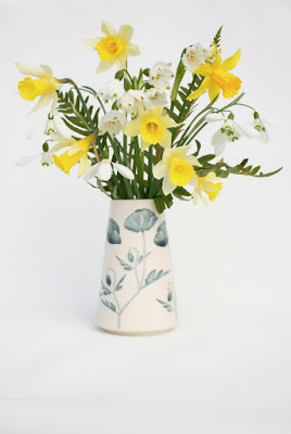 Poppy Vase by Kate Evans Ceramics