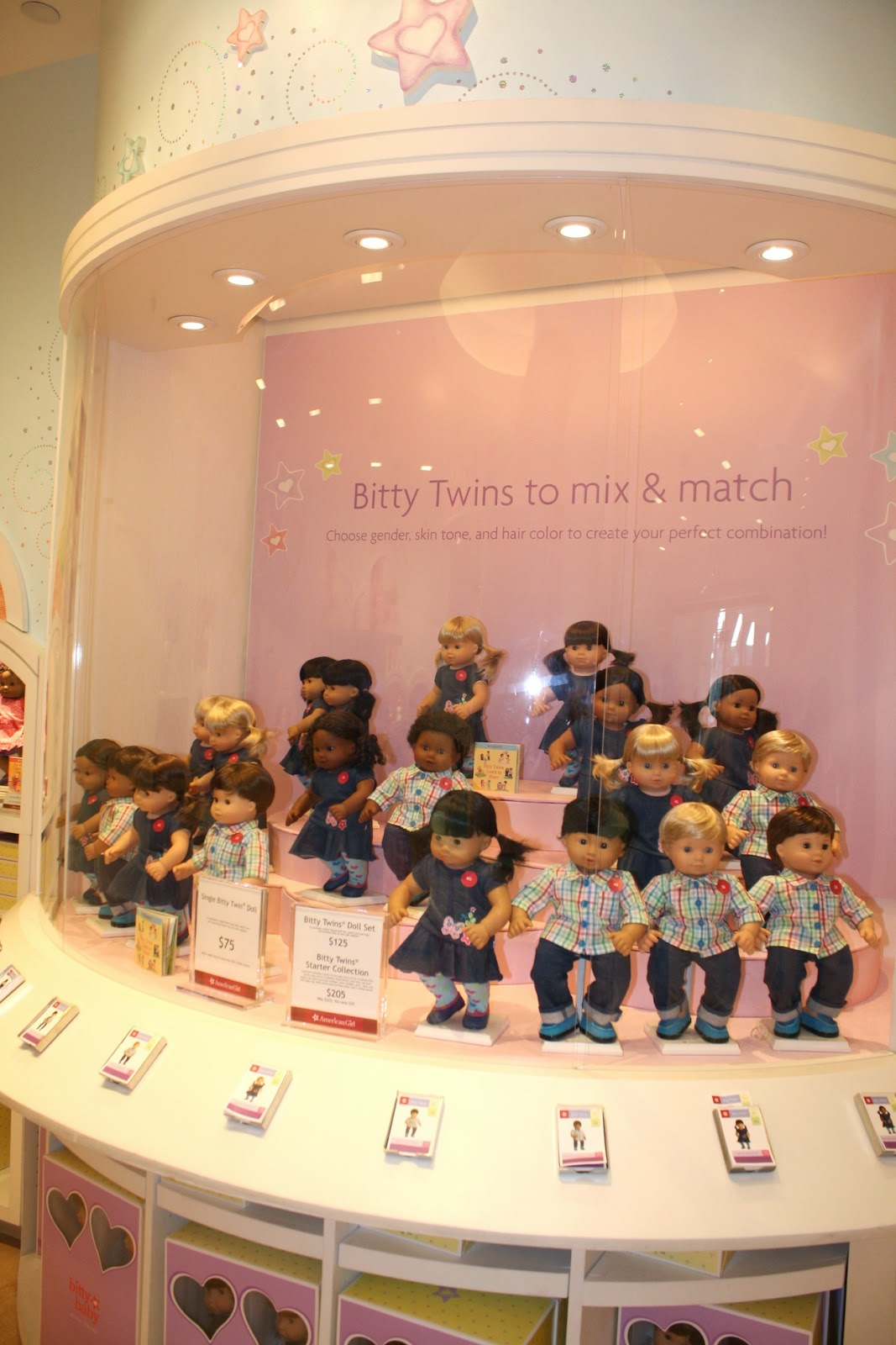 Baby Dolls Playing Youtube American Girl Doll Store At The Grove Every Girls 39; Dream