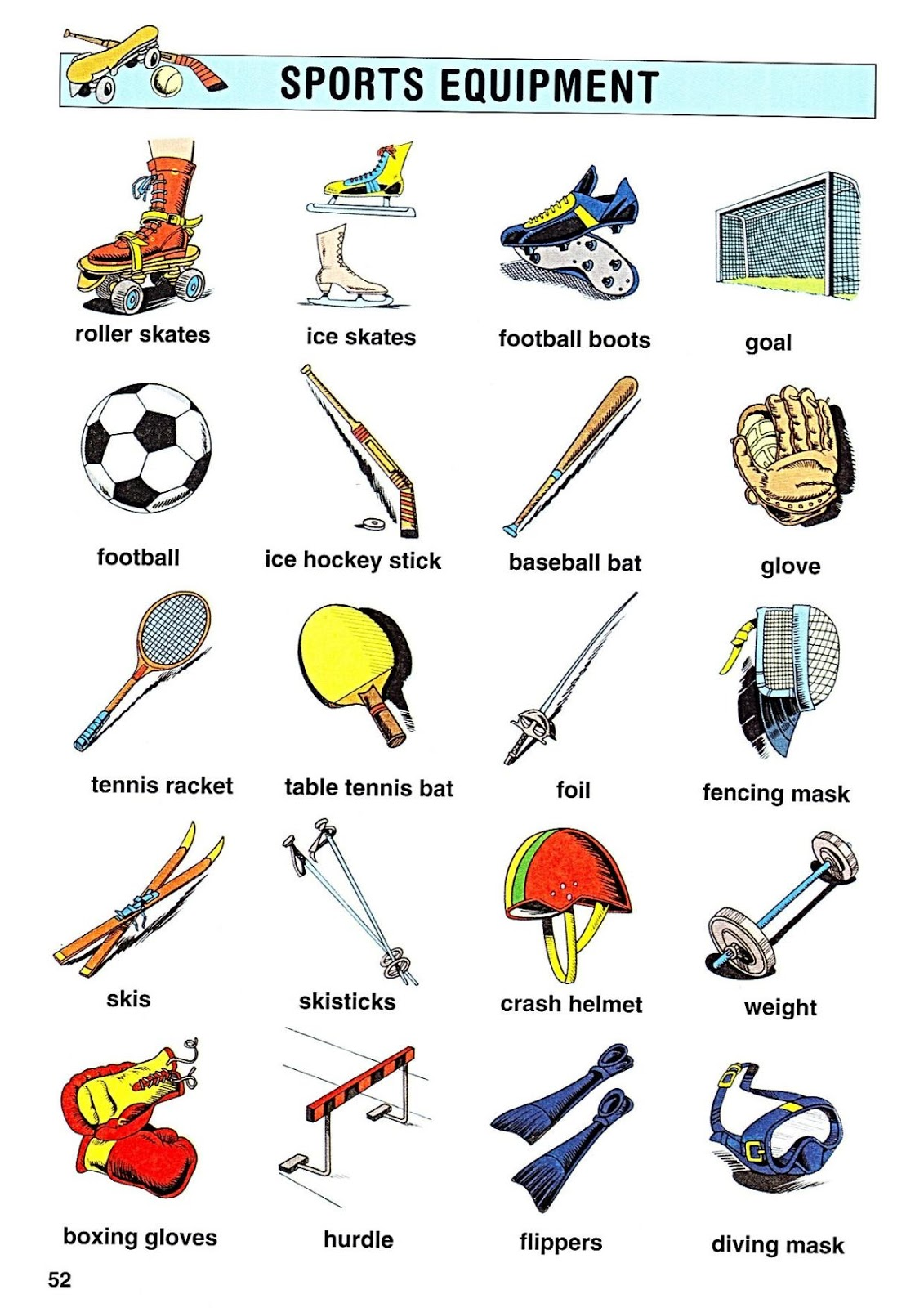We Speak English Too Sports Equipment