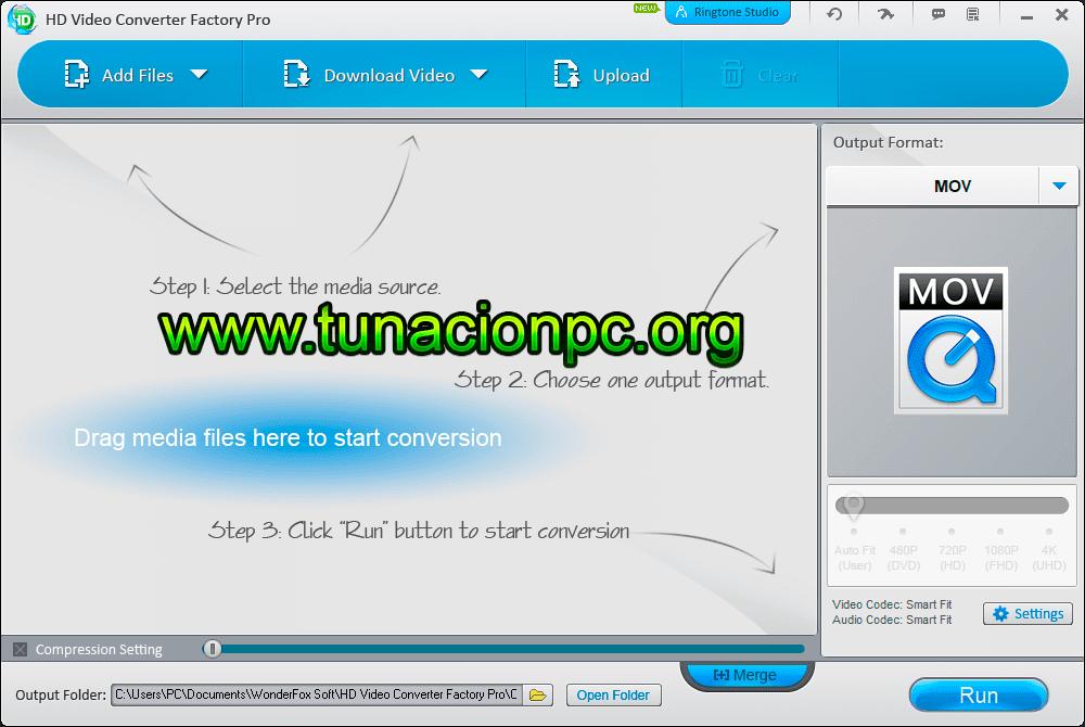 Descargar WonderFox HD Video Converter Factory Pro