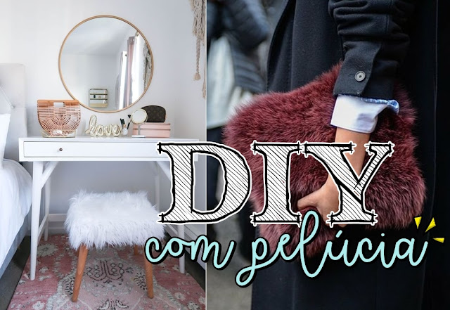 DIY: customize com pelúcia