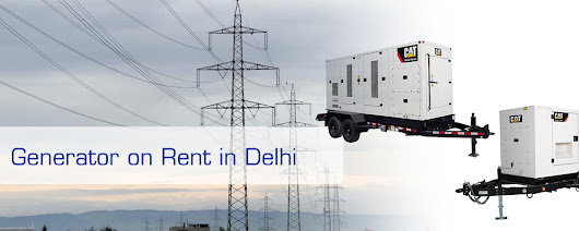 Generator on Rent in delhi