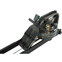 Adjustable footplates on Apollo Pro II Water Rower