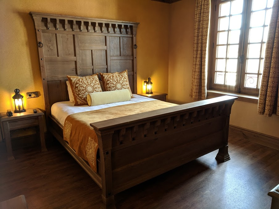 Puy du Fou Theme Park, France - La Citadelle Family Room Bed
