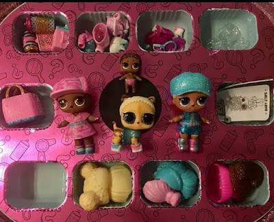 Куклы и питомец, аксессуары и игрушки из чемодана L.O.L. Bigger Surprise 2018