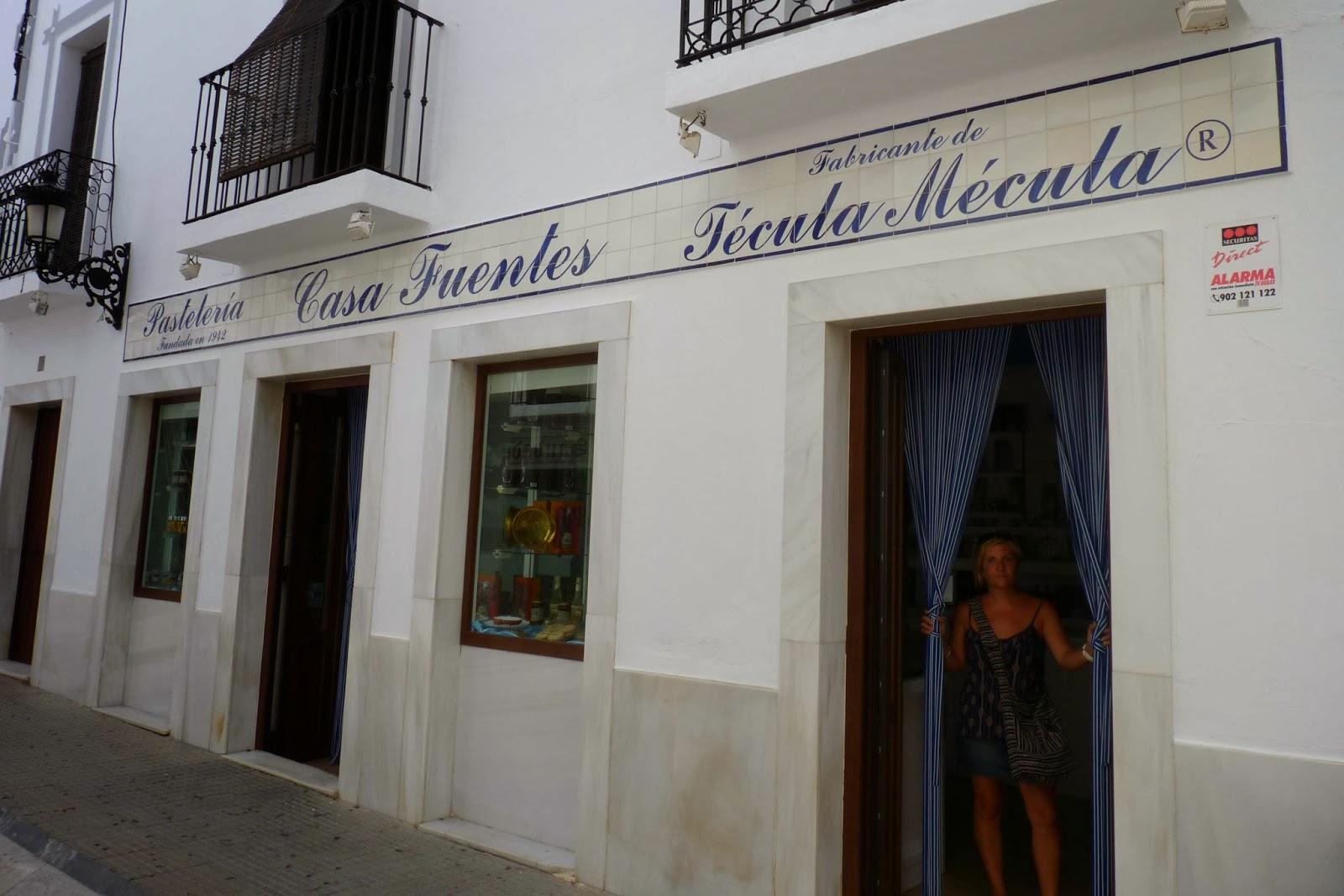 Olivenza, pastelería Casa Fuentes.