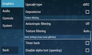 cara setting emulator PS2 / PSP 4