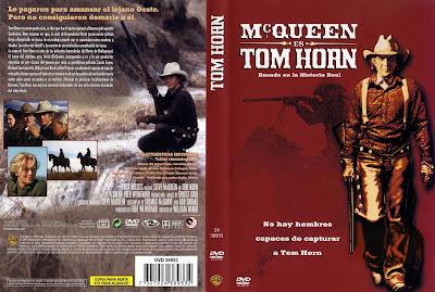 Tom Horn | 1980: Caratula, cover, dvd