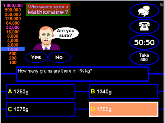 Play and learn MATH in English ;)