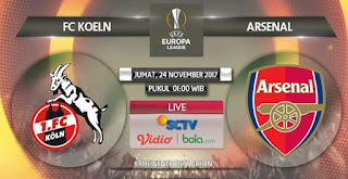 Prediksi FC Koln vs Arsenal 24 November 2017 - Liga Europa Live SCTV