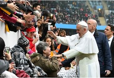 Encontro ecumenico com o papa
