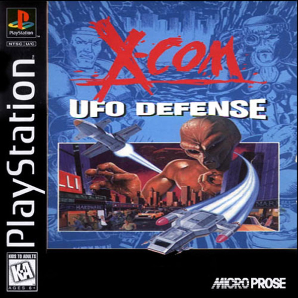 X-Com - UFO Defense - PS1 - ISOs Download