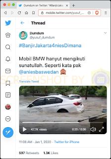BMW Hanyut Yusuf Dumdum hoax