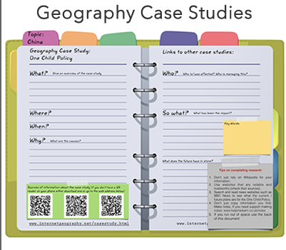 IGCSE Geography Edexcel      B Case study of one high tech industry