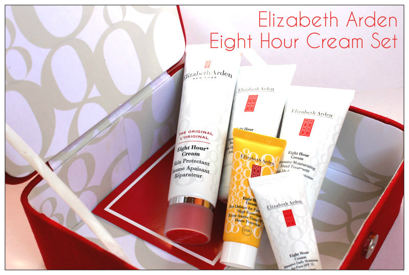 Review: Elizabeth Arden Eight Hour Cream, Cosmetic Set