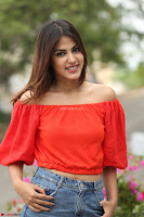 Rhea Chakraborty in Red Crop Top and Denim Shorts Spicy Pics ~  Exclusive 221.JPG