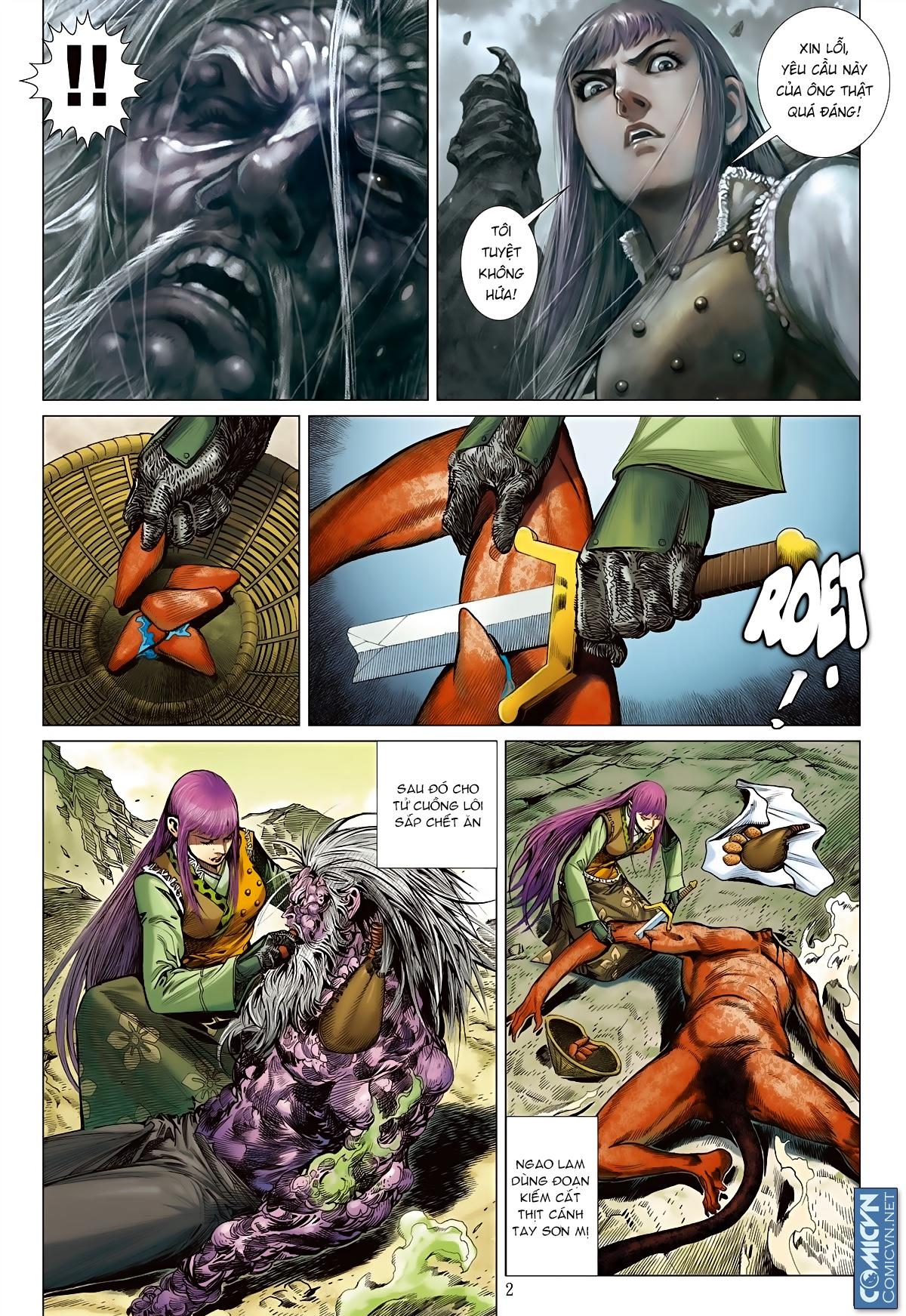 Sơn Hải Nghịch Chiến Chap 83 - Trang 2