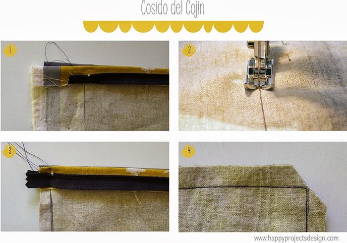 DIY: cojines con telas japonesas