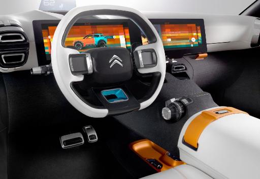 2017 Citroen Aircross Interior