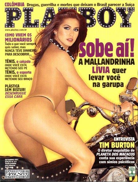 Livia Andrade pelada nua na playboy 1