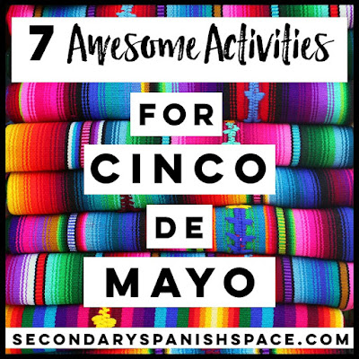 Cinco de Mayo Spanish Activities and Lesson Plans:  How to Celebrate in Spanish Class